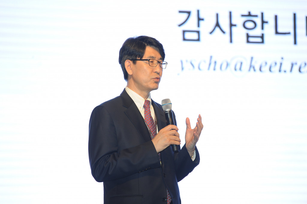 President, Yongsung Cho, who participated in conference as a Keynote speaker (2)